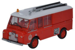 Oxford Diecast Land Rover FT6 Carmichael New Zealand Fire Service - 76LRC005