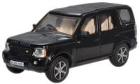 Oxford Diecast Land Rover Discovery - Santorini Black - 76LRD003