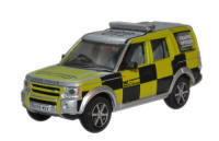 Oxford Diecast Land Rover Discovery - Highways Agency-  - 76LRD004