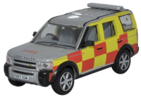 Oxford Diecast Land Rover Discovery - Nottinghamshire Fire & Rescue - 76LRD005