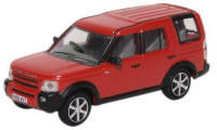 Oxford Diecast Land Rover Discovery 3 - Rimini Red Metallic - 76LRD008