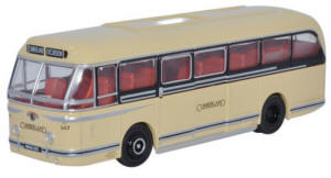 Oxford Diecast Leyland Royal Tiger Coach Cumberland- 76LRT005