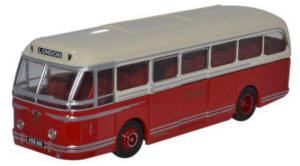 Oxford Diecast Leyland Royal Tiger Coach - North Western - 76LRT007