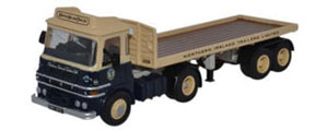 Oxford Diecast ERF LV Flatbed - N Ireland Trailers - 76LV004