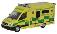 Oxford Diecast - Mercedes Welsh Ambulance - 76MA001