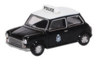 76MCS005 - Oxford Diecast Mini Cooper S MkII - Hong Kong Police