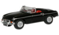 New Modellers Shop - Oxford Diecast MGB Roadster- Metropolitan Police - 76MGB005