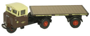 GWR Mechanical Horse Flatbed Trailer - 76RAB003