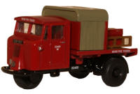 New Modellers Shop - Oxford Diecast - BR Rail Mechanical Horse Ridged Fire Tender - 76MH015