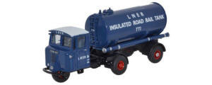 Oxford Diecast - LNER Mechanical Horse Tanker Trailer - 76MH018