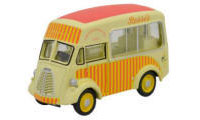 76MJ003 - Oxford Diecast Morris J - Ice Cream Van - Rossis