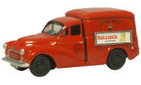 New Modellers Shop - Oxford Diecast Morris Minor Royal Mail Van - 76MM053