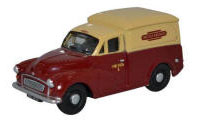 76MM059 - Oxford Diecast Morris Minor 1000 Van British Rail