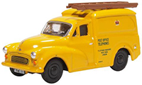 76MM061 - Oxford Diecast Morris Minor 1000 Van Post Office Telephone Yellow