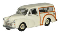 New Modellers Shop - Oxford Diecast -  Morris Minor Traveller Old English White - 76MMT001