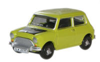 Oxford Diecast Classic Mini Lime Green (Mr Bean)  - 76MN005