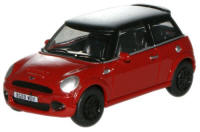 New Modellers Shop - Oxford Diecast - New Mini - Red - 76NMN001