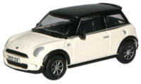 New Modellers Shop - Oxford Diecast - New Mini - White - 76NMN002