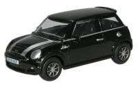 New Modellers Shop - Oxford Diecast - New Mini - Black - 76NMN003