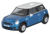 Oxford Diecast New Mini - Laser Blue - 76NMN006