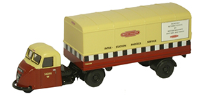 New Modellers Shop - Oxford Diecast - British Rail Scammel Scarab - 76RAB001