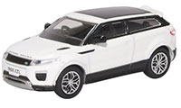76RRE002 - Oxford Diecast Range Rover Evoque - Coupe (Facelift) Fuji White