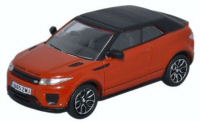 Oxford Diecast Range Rover Evoque - Convertible Phoenix Orange - 76RREC001