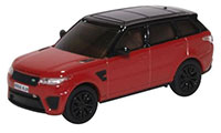 OR76RRS003 - Oxford Diecast Range Rover Sport SVR Firenze Red