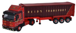 Oxford Diecast Scania 113 Tipper - Reids of Minishant - 76S143002