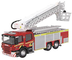 Oxford Diecast Scottish Fire & Rescue Aerial Scania Pump Fire Engine - 76SAL006