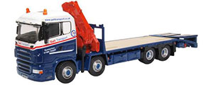 Oxford Diecast Scania Crane Lorry - Galt Transport - 76SCL004