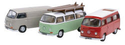 Oxford Diecast VW Bay Window Set - 76SET35A
