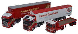 Oxford Diecast Hayton Coulthard Centenary Set - 76SET45