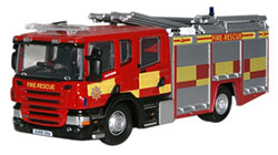Oxford Diecast - Essex Fire & Rescue Service Scania CP31 Pump Ladder - 76SFE005