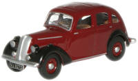 Oxford Diecast OO Gauge Model Railway Vehicles - Maroon Standard Flying Twelve -  76sft002