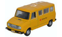 Oxford Diecast Sherpa Van - British Rail (Yellow) - 76SHP002