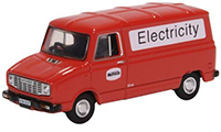 76SHP008- Oxford Diecast Sherpa Van - Manweb Electricity