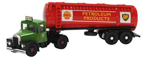 76SHT001 - Oxford Diecast Scammell Highwayman Tanker Shell BP