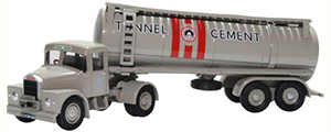 76SHT003 - Oxford Diecast Scammell Highwayman Tanker Tunnel Cement