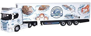 76SNG001 - Oxford Diecast Scania S Series Highline Fridge Whitelink Seafoods