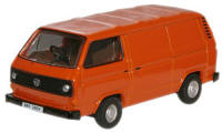 New Modellers Shop - Oxford Diecast - VW T25 Brilliant Orange - 76T25004