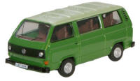 Oxford Diecast VW T25 Bus - Lime Green / Saima Green 76T25005