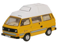 Oxford Diecast VW T25 Camper Van - Bamboo Yellow - 76T25006