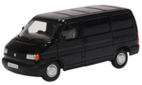 76T4004 - Oxford Diecast VW T4 Van - Black
