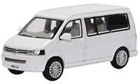 76T5C002 - Oxford Diecast VW T5 California Camper Candy White
