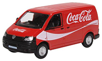 76T5V003CC- Oxford Diecast VW T5 Van in Coca Cola livery