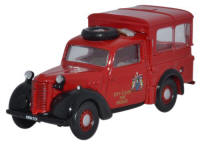 Oxford Diecast Austin Tilly City of Leeds Fire Brigade - 76TIL006