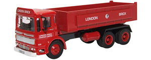 Oxford Diecast AEC Ergomatic 6 Wheel Tipper - London Brick - 76TIP005