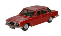 Oxford Diecast Triumph 2500 - Signal Red - 76TP002