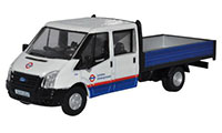 76TPU003 - Oxford Diecast Ford Transit Dropside London Underground